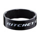"Ritchey WCS Spacer Carbon 1 1/8"" 10mm 2 Stück glossy UD"